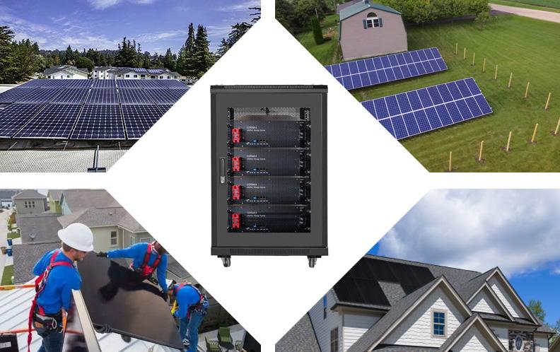 48v 100ah lifepo4 5.12kwh eg4ll solar battery